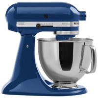 KitchenAid KSM150PSBW Blue Willow Artisan Series 5 Qt. Countertop Mixer