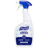 Purell 3340-03 32 oz. Fragrance Free Healthcare Surface Disinfectant   - 3/Case