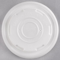 EcoChoice 8 oz. Compostable and Biodegradable Soup / Hot Food Cup Lid   - 500/Case