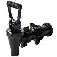CaterGator 5 Gallon Black Insulated Beverage Dispenser Faucet