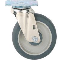 Metro C6DA 6 inch Super Erecta Hi Modulus Donut Rubber Swivel Plate Caster
