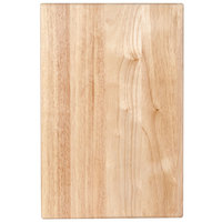 Wood Cutting Board - 18 inch x 12 inch x 1 3/4 inch