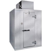 Kolpak QS7-068-CT 6' x 8' x 7' 6 inch Indoor Walk-In Cooler with Aluminum Floor