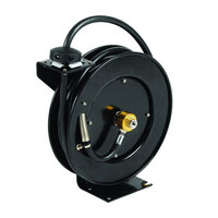 Equip by T&S 5HR-342-09-GH Hose Reel with Garden Hose Adapter and Spray Valve - 50' Hose