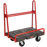 Rubbermaid 4462 A-Frame 36 inch x 24 inch Panel Truck - 2000 lb. Capacity