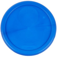 Rubbermaid 1980339 Color-Coded 2 and 4 Qt. Blue Round Food Storage Container Lid