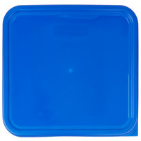 Rubbermaid 1980309 Color-Coded 12, 18, and 22 Qt. Blue Square Food Storage Container Lid
