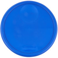 Rubbermaid 1980389 Color-Coded 12, 18, and 22 Qt. Blue Round Food Storage Container Lid