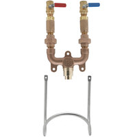 T&S MV-0771-12N-BV Washdown Station with 3/4 inch NPT Mixing Valve