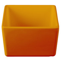 Tablecraft CW4024X Contemporary Collection Orange 1 Qt. Straight Sided Bowl