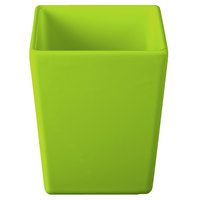 Tablecraft CW4012LG Contemporary Collection Lime Green 1.5 Qt. Straight Sided Bowl