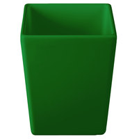 Tablecraft CW4012GN Contemporary Collection Green 1.5 Qt. Straight Sided Bowl