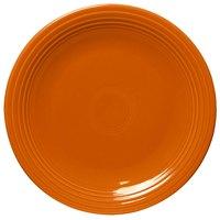 Homer Laughlin 467325 Fiesta Tangerine 11 3/4 inch Chop Plate - 4 / Case