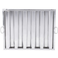 20 inch x 25 inch x 2 inch Stainless Steel Hood Filter