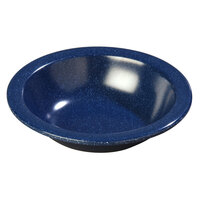 Carlisle 4352935 Dallas Ware 10 oz. Cafe Blue Grapefruit Bowl - 48/Case