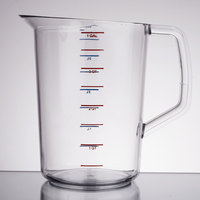 Rubbermaid 3218 Bouncer 4 Quart Polycarbonate Plastic Measuring Cup