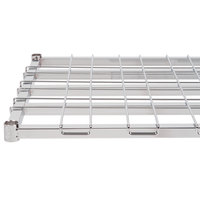 Regency 24 inch x 60 inch Chrome Heavy-Duty Dunnage Shelf with Wire Mat - 800 lb. Capacity