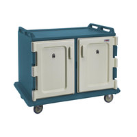 Cambro MDC1520S20192 Granite Green Meal Delivery Cart 20 Tray