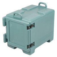 Cambro UPC300401 Ultra Pan Carrier Slate Blue Front Loading Insulated Food Pan Carrier with Handles
