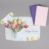 Hoffmaster 856769 10 inch x 14 inch Easter Placemat Combo Pack