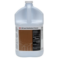 3M 23556 1 Gallon HB Quat Disinfectant Cleaner Concentrate   - 4/Case