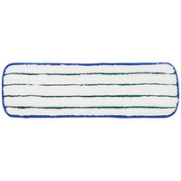 3M 59028 18 inch Blue Easy Scrub Flat Mop Pad   - 10/Pack