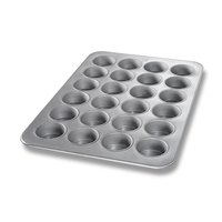 Chicago Metallic 45445 24 Cup Glazed Oversized Jumbo Muffin Pan - 17 7/8 inch x 25 7/8 inch x 1 17/32 inch