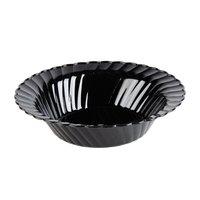 WNA Comet CWB10180BK Classicware 10 oz. Black Plastic Bowl - 18 / Pack