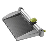 Swingline SWI9615 SmartCut 15 inch x 20 inch 30 Sheet Commercial Heavy-Duty Rotary Paper Trimmer with Metal Base