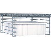 Metro SS3NC Super Erecta Slide System for 21 inch Shelves