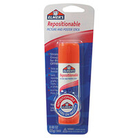 Elmer's EPIE623 0.88 oz. Clear Repositionable Picture and Poster Glue Stick