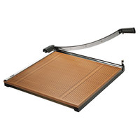 Elmer's EPI26630 X-Acto 30 inch Square 20 Sheet Commercial Guillotine Paper Trimmer with Wood Base