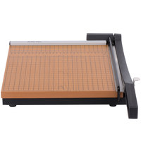 Elmer's EPI26612 X-Acto 12 inch Square 10 Sheet Commercial Guillotine Paper Trimmer with Wood Base