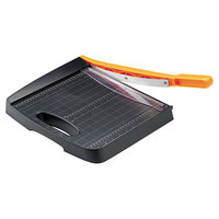 Fiskars FSK01005452 Recycled Bypass 12 5/16 inch x 21 5/16 inch 10 Sheet Guillotine Paper Trimmer
