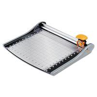 Fiskars FSK01005419J SureCut 14 inch x 18 inch 12 Sheet LED Rotary Paper Trimmer