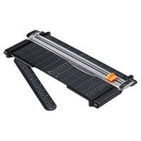 Fiskars FSK01005454 SureCut 6 7/16 inch x 15 inch 7 Sheet Rotary Paper Trimmer
