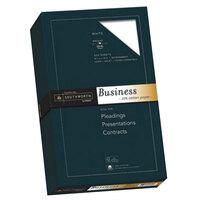 Southworth SOU403E 8 1/2 inch x 14 inch White 20# 25% Cotton Business Paper, Legal