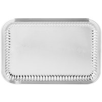 Vollrath 82166 Esquire 18 inch x 12 inch Rectangular Fluted Stainless Steel Tray