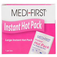 Medique 71301 Medi-First 6 inch x 9 inch Instant Hot Pack / Hot Compress