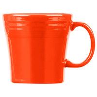 Homer Laughlin 1475338 Fiesta Poppy 15 oz. Tapered Mug   - 12/Case