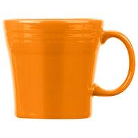 Homer Laughlin 1475325 Fiesta Tangerine 15 oz. Tapered Mug   - 12/Case