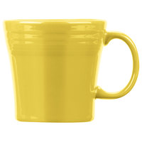 Homer Laughlin 1475320 Fiesta Sunflower 15 oz. Tapered Mug   - 12/Case