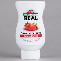 Strawberry Real 16.9 fl. oz. Infused Syrup