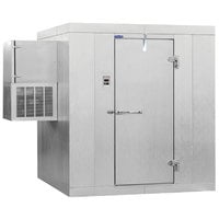 Nor-Lake KLF7756-W Kold Locker 6' x 5' x 7' 7 inch Indoor Walk-In Freezer with Wall Mounted Refrigeration
