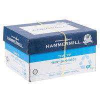 Hammermill HAM162016CT Tidal 8 1/2 inch x 14 inch White Ream of 20# Multipurpose Copy Paper - 10/Case