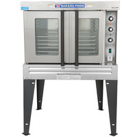Bakers Pride BCO-G1 Cyclone Series Liquid Propane Single Deck Full Size Convection Oven - 60,000 BTU