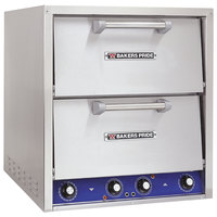 Bakers Pride P44-BL Brick Lined Electric Countertop Pizza and Pretzel Oven - 220-240V, 3 Phase, 7200W