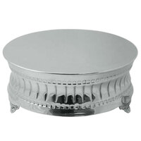 Tabletop Classics AC-9123 18 inch Nickel Plated Round Cake Stand