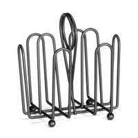 Tablecraft 597CBK Black Wire Jelly Packet Rack - 12 / Pack