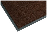 Teknor Apex NoTrax T37 Atlantic Olefin 434-320 4' x 6' Carpet Entrance Floor Mat - Brown